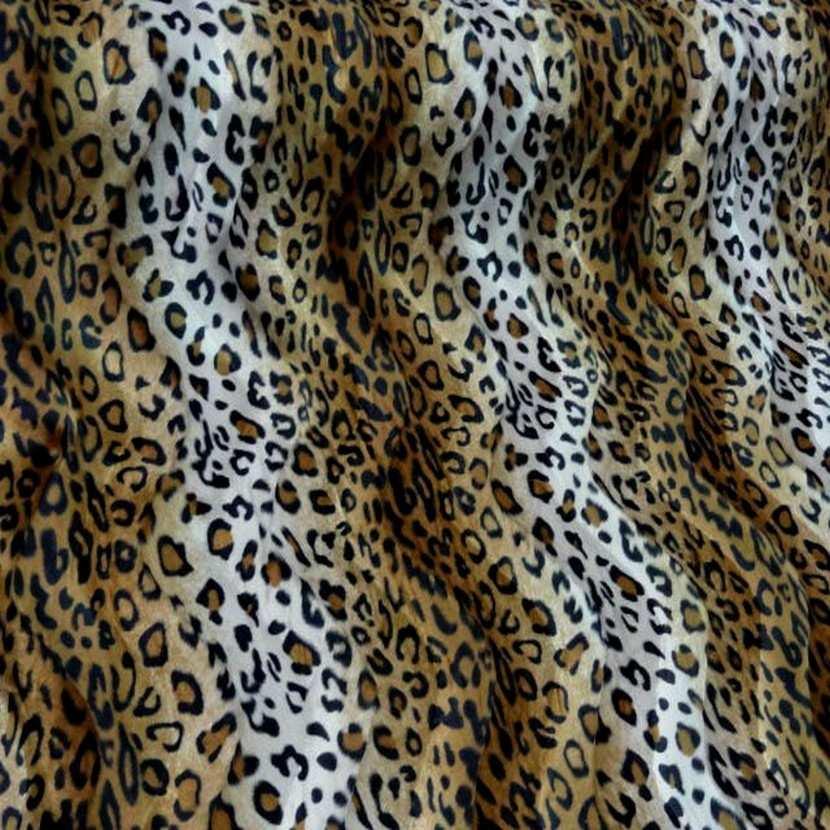 Fausse fourrure leopard3