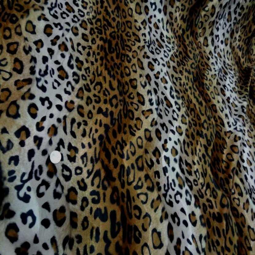Fausse fourrure leopard6