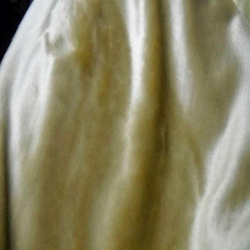 Fausse fourrure touche velours beige2