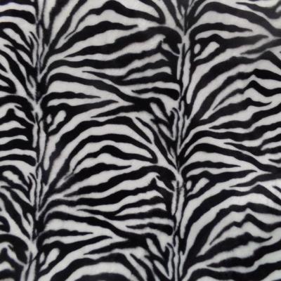 Fausse fourrure zebre 2