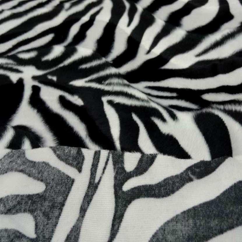 Fausse fourrure zebre3