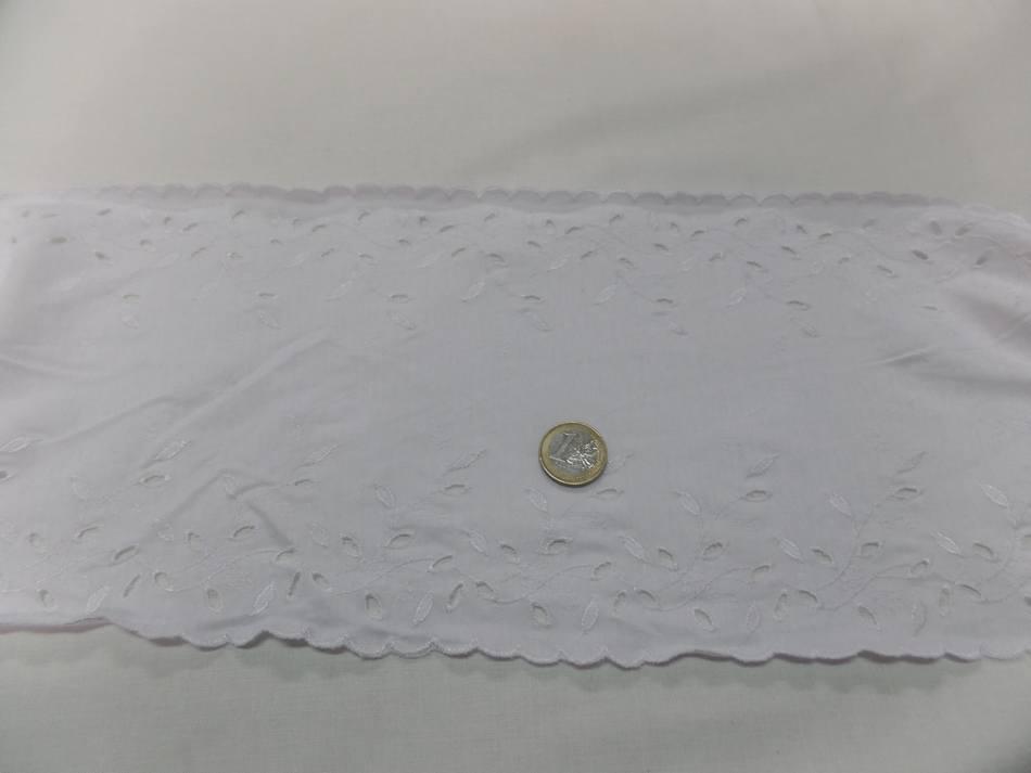 galon de jersey coton broderies anglaise en 13 cm pas cher