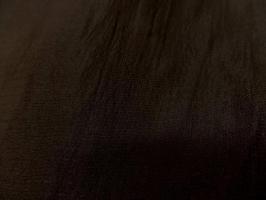 Gaze de soie marron 0