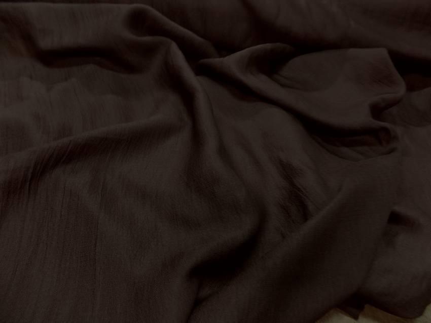 Gaze de soie marron 5