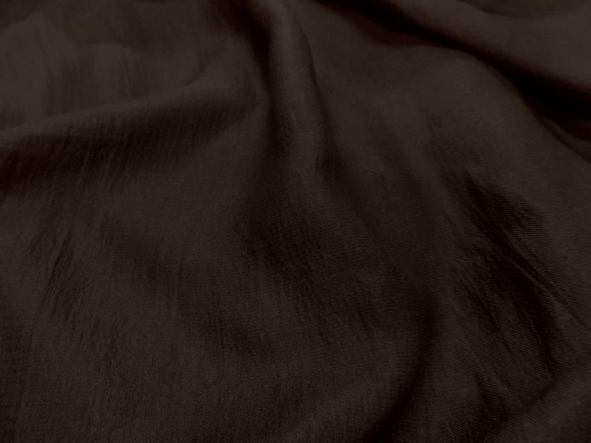 Gaze de soie marron0