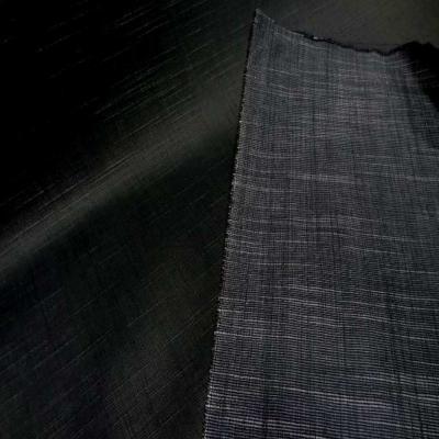 Jean double face noir huile et noir chine