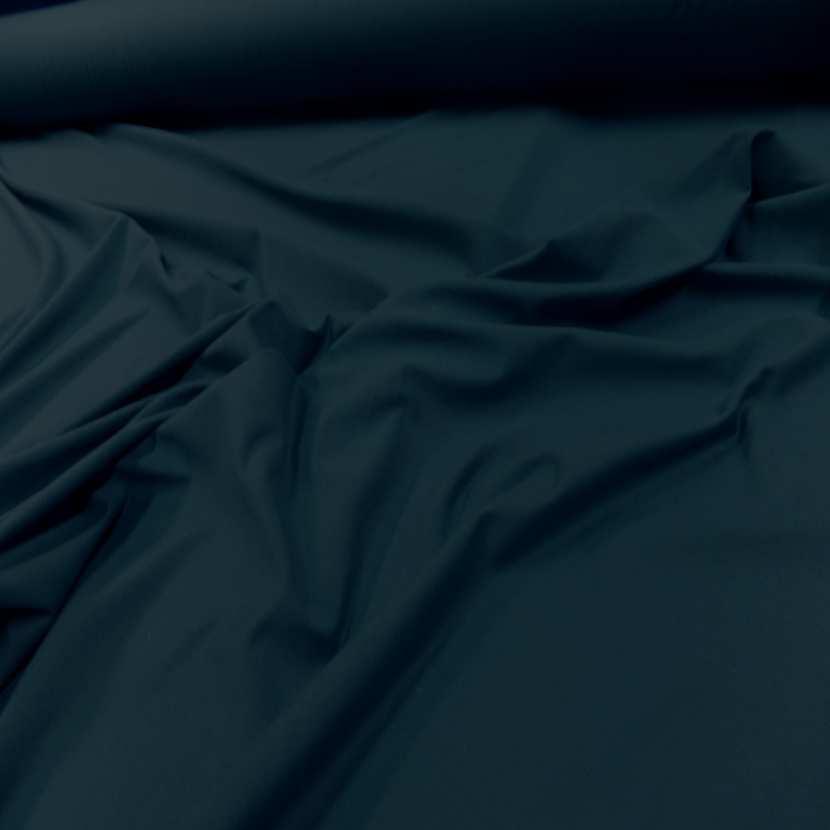 Jersey coton lycra bleu petrole5