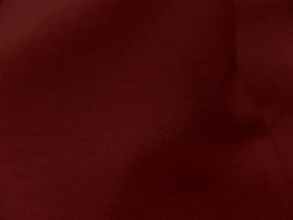 Jersey coton lycra ton rouge 5