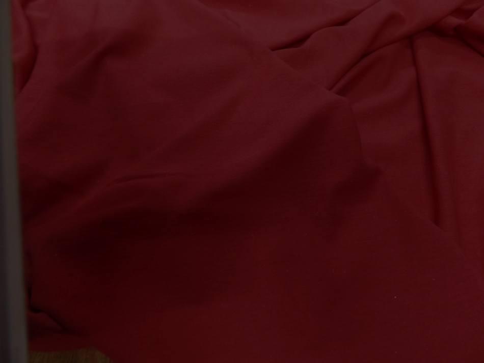 Jersey coton lycra ton rouge 7