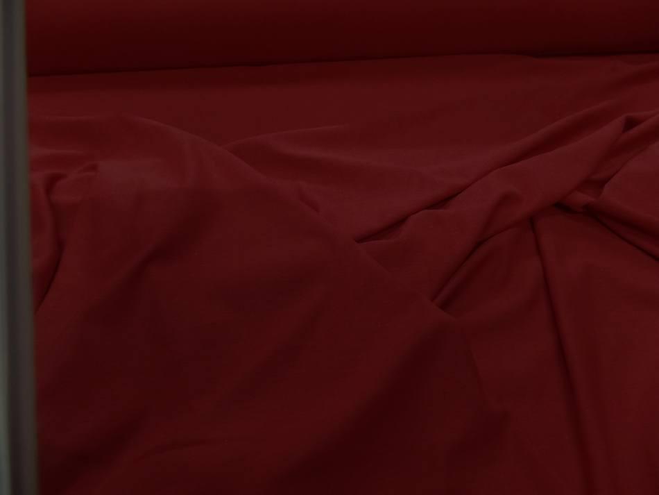 Jersey coton lycra ton rouge 8