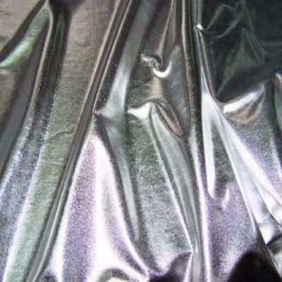 Jersey lame gris metal