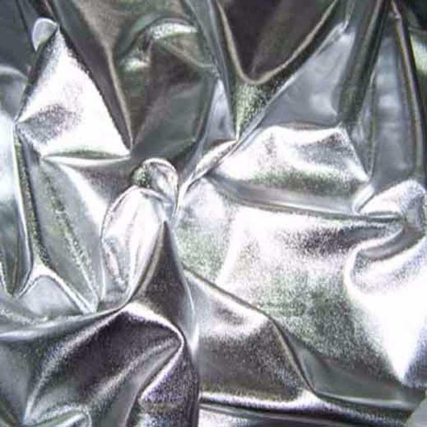 Jersey lame gris metal7