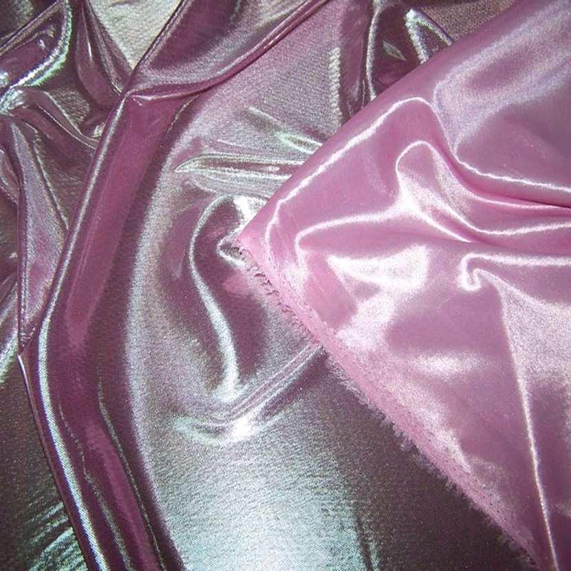 Jersey laser ton rose reflets blanc metal4