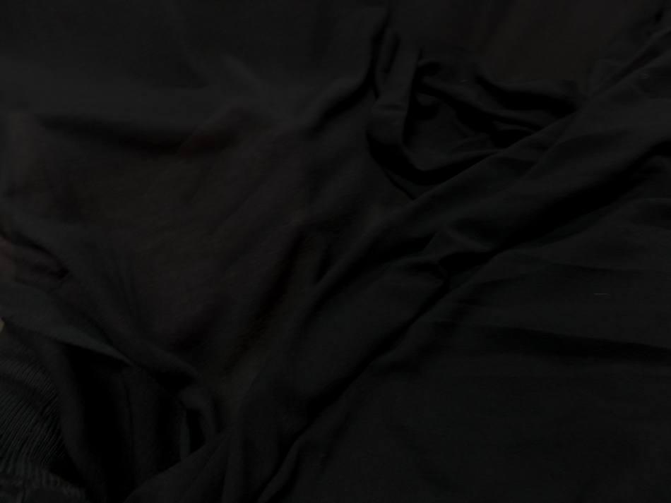 Jersey tres fin noir