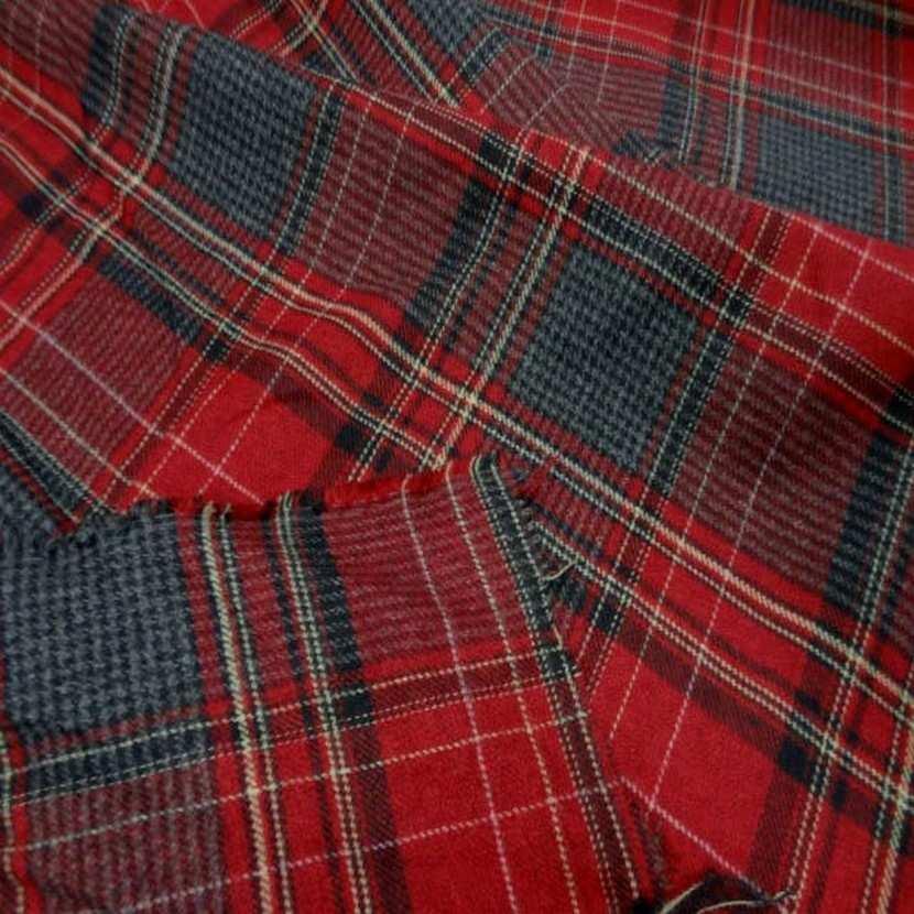 Lainage leger motifs ecossais05
