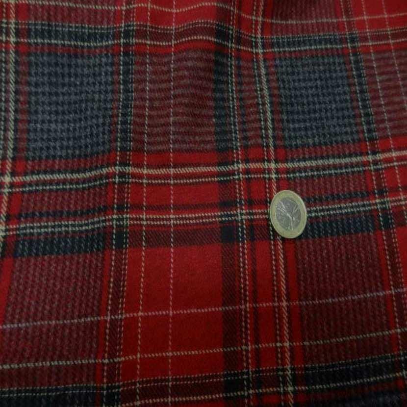 Lainage leger motifs ecossais9