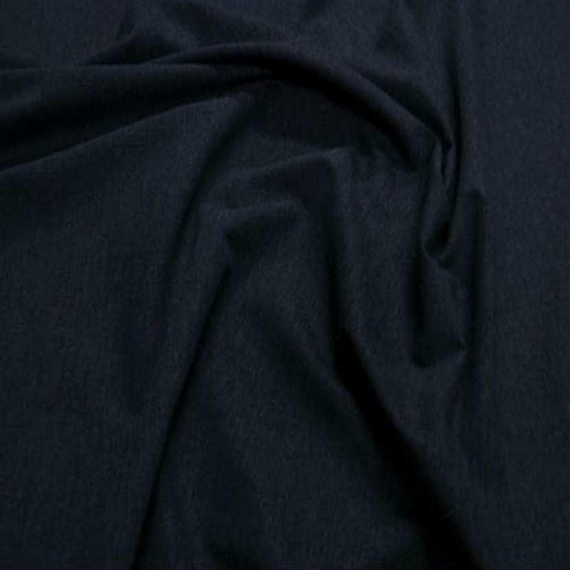 Lainage lycra bleu chine