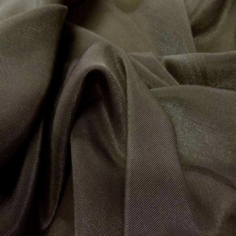 Lame lurex souple tisse noir et vieil or09
