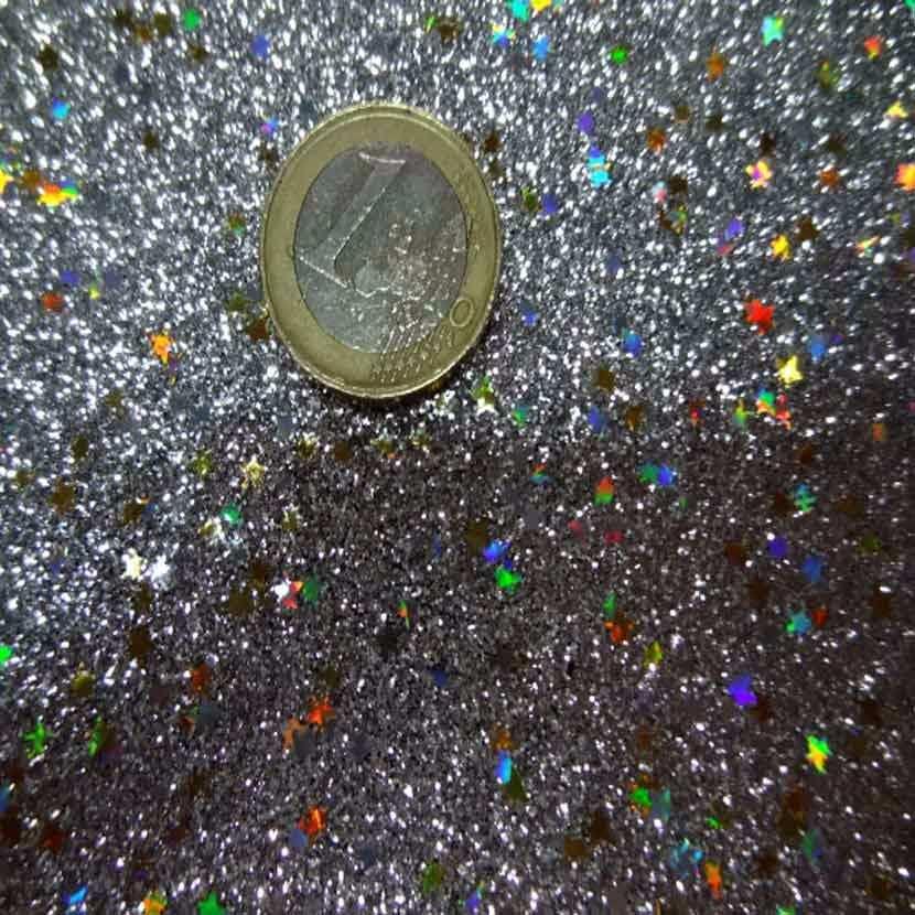 Lame metal a paillettes multicolore9