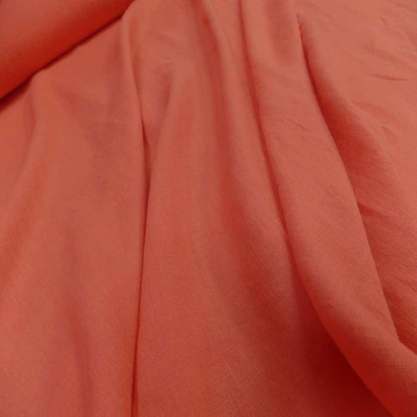 Lin 100 ton orange rouille clair1