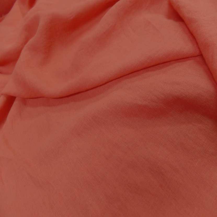 Lin 100 ton orange rouille clair2