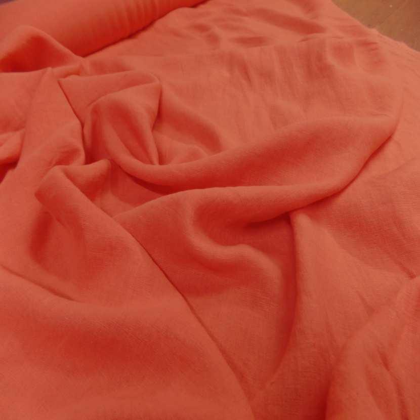 Lin 100 ton orange rouille clair6