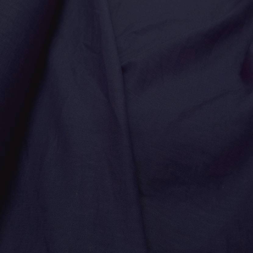 vente de tissu Lin bleu indigo