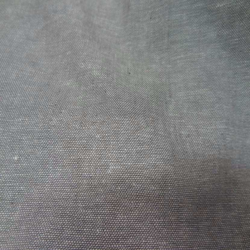 Lin chambray gris chine4