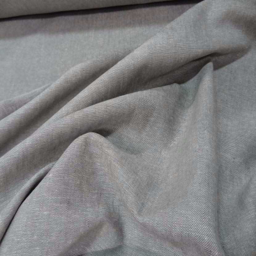Lin chambray gris chine6