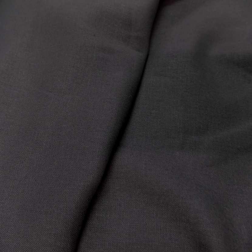 Lin coton gris anthracite 5