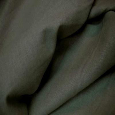 Lin coton kaki clair
