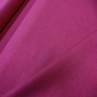 Lin coton rose fuchsia