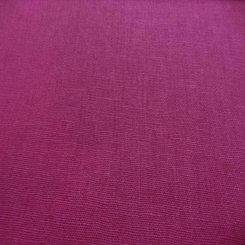 Lin coton rose fuchsia5