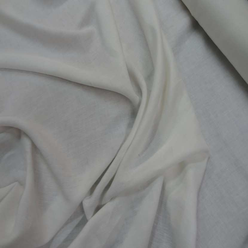 vente de tissu Lin écrue 100% lin
