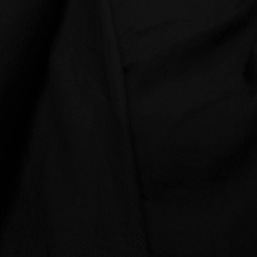 tissu Très beau lin noir 240gr m²