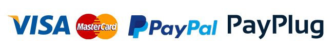 Logo paiement securise paypal payplug