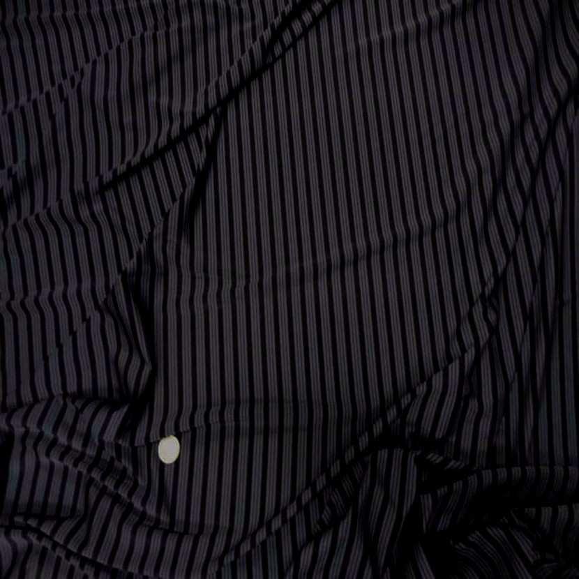 Lycra a rayures gris noir6