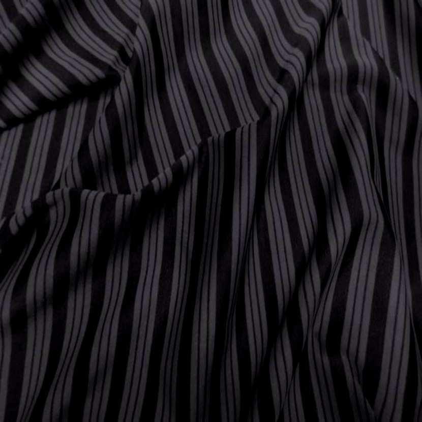 Lycra a rayures gris noir7