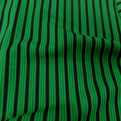 Lycra a rayures vert et noir07