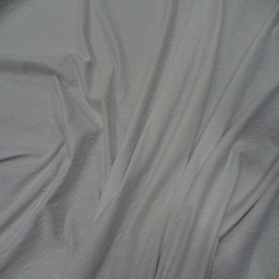Lycra blanc faconne