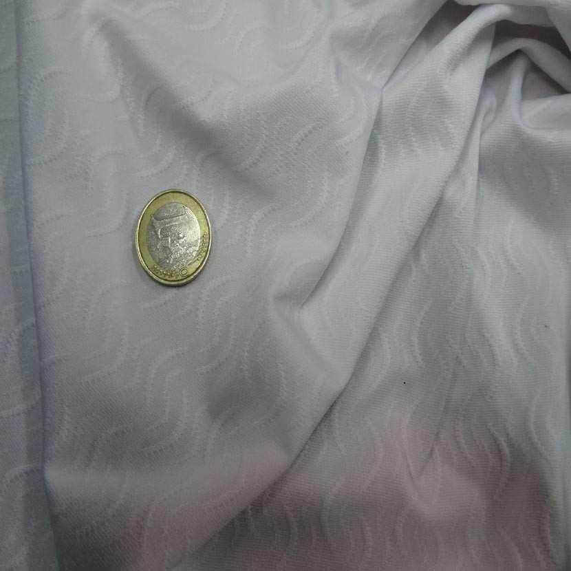 Lycra blanc faconne8