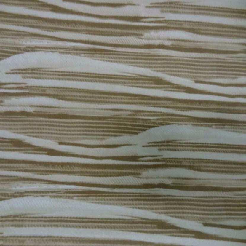Lycra blanc imprime ton beige3