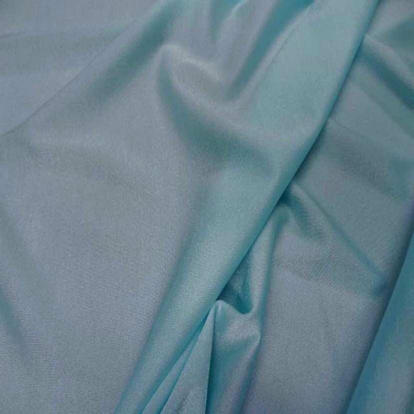 Lycra bleu jade tres fin en 1 50m de large0