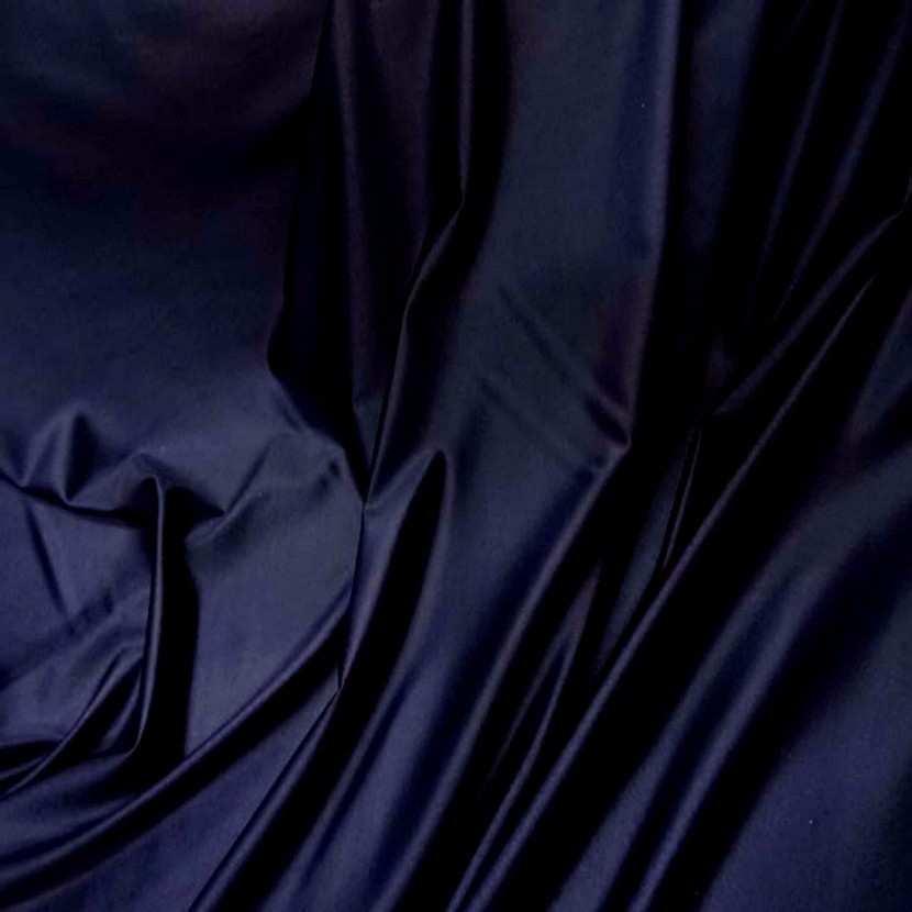 Lycra bleu marine fonce