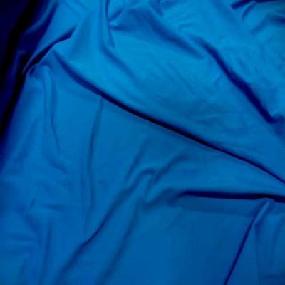 Lycra extensible dans le 2 sens bleu