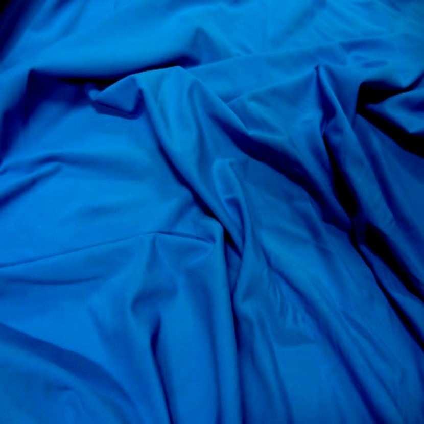 Lycra extensible dans le 2 sens bleu6