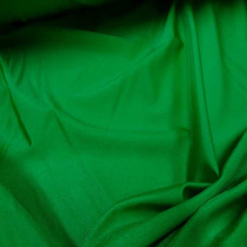 Lycra extensible dans le 2 sens satine vert0