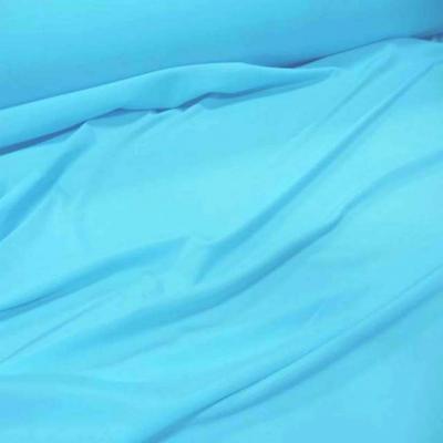 Lycra extensible dans le 2 sens ton bleu clair