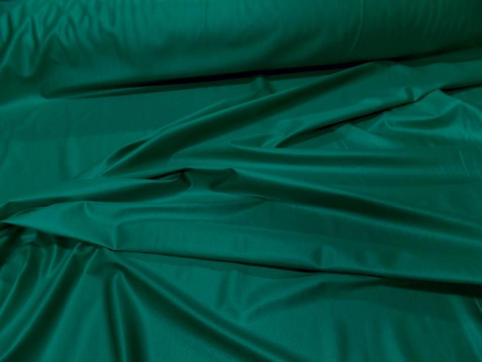 Lycra extensible dans le 2 sens vert effet mouille
