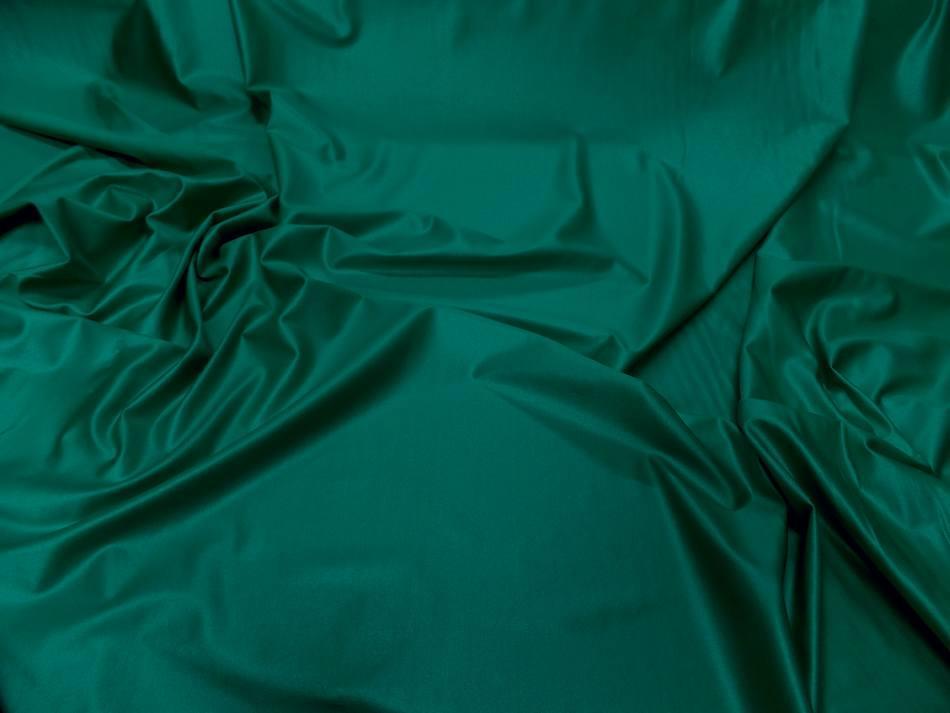 Lycra extensible dans le 2 sens vert effet mouille8